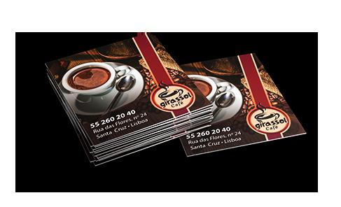 Mini Cartão De Visita Impressao Online Gráfica Atual Card