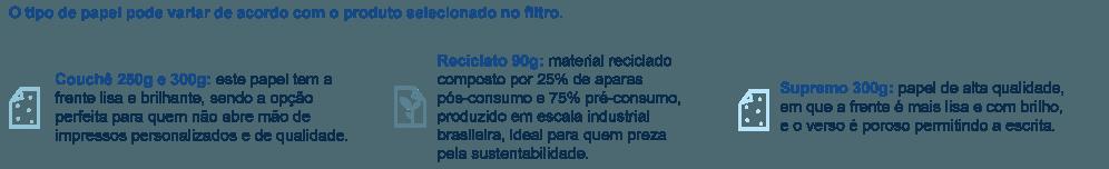 Material para Agenda Permanente Capa Dura