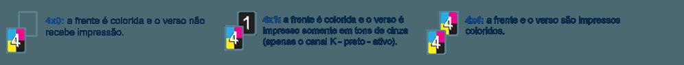 Cor para Capa de Carnê 120g