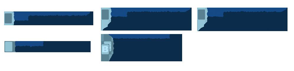 Acabamentos para Cartela de Bijuteria Couchê 250g