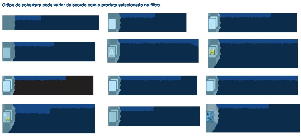 Cobertura para Cartão de Visita Metal Premium