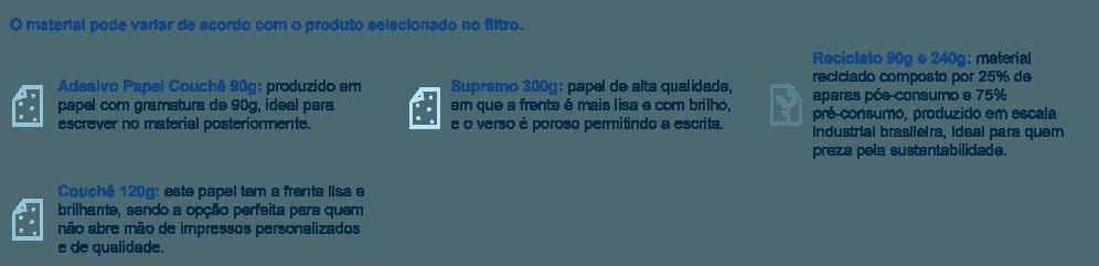 Materiais para Adesivo para Envelope