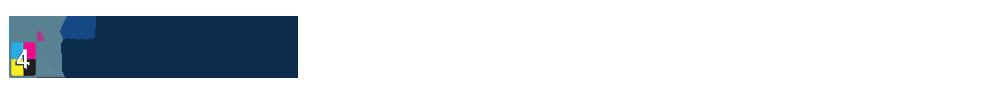 Placa de Sinalização Pequena com frente Colorida; e verso sem impressão